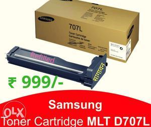 Samsung mlt d707l Refilled Toner cartridges for