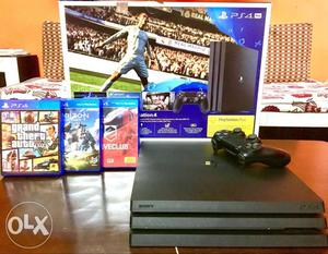 Sony PS4 1TB Console With Controller With 3 Games Free