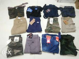COTTON JEANS Cargo With Osum Fabric Jus In A Cheap Price Ltd