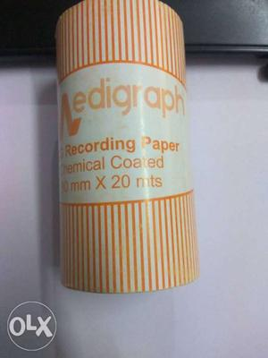 ECG paper Roll size 80 x 20 mts
