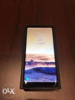 Samsung galaxy Note 8 (Midnight black) 6 GB Ram