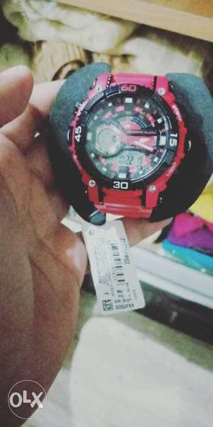 Sonata SF chrono watch brand new not a single