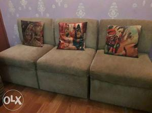 6 seter home made sofa set