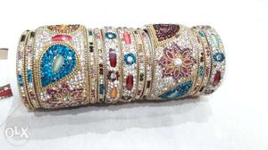 Absolutely New 2 6 size Bangles set of high