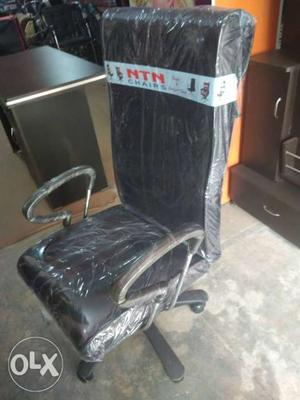 Brand New Fresh Revolving Office Chair Colour -black/brown