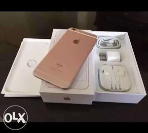 IPhone 6s 32 GB memory card rose gold good