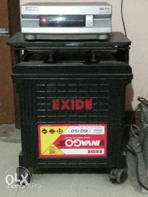 Luminous inverter with Exide invigorating battery