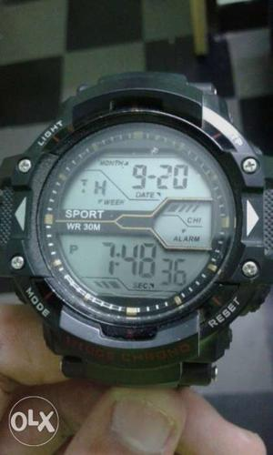 Sports brand watch for men.. new one.. 7 lights