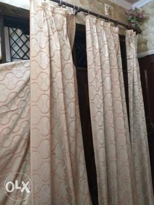 5 Curtains of 9 feet each and 4 curtains of 7