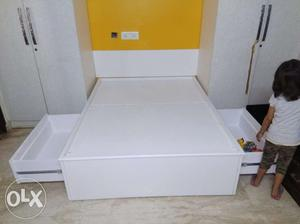 Brand New Single Bed with storage. 4 feet by 5.5