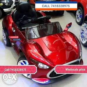 Brand new Mercedes Benz ride on toy car rechargeable battery
