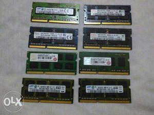Samsung, Hynix and Transcend Laptop ram 4 gb Ddr3 in a new
