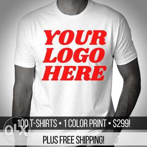 T-shirts printing your own design and logo
