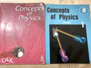 HC Verma vol 1and 2 best physics book for IIT JEE.