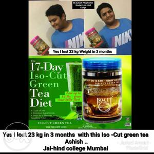 Iso cut green tea for mens for weight loss