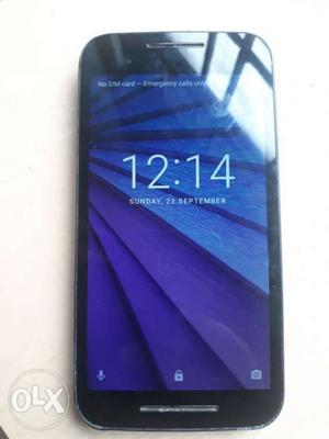 Moto G3, good condition without charger