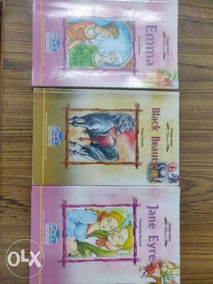 Price per book- 200 price for 3 books together-