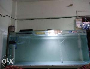 6 feet Tank on sale with rack in Mumbai Tank size