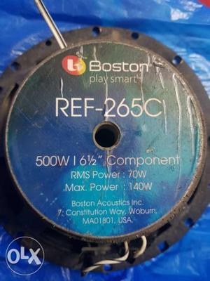 BOSTON components speakers Made in USA..set of