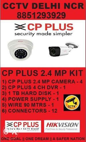 Cp Plus Full Hd Cctv Camera Kit | Cctv Delhi Ncr