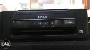 Epson l380 colour printer amp scanner 2 month | Posot Class
