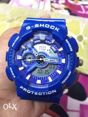 Its a brand new gshock watch royal blue in colour