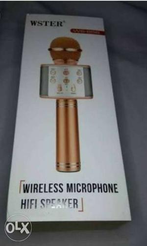 Wireless bluetooth ktv 858 microphone mic