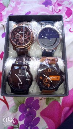 Brand new Rich Club 4 watches