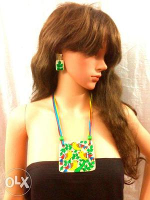 Eco Friendly MSeal Necklace Sets rich heritage of India