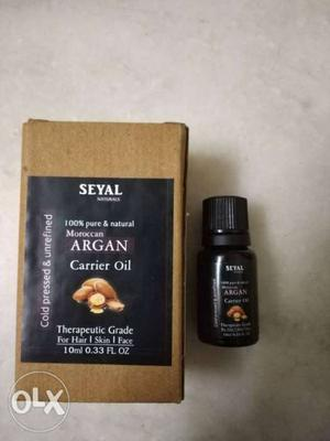 100% pure Argan oil. Best oil for soft hair and