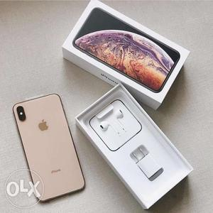 Apple iphone xs max 256gb is available now with warranty