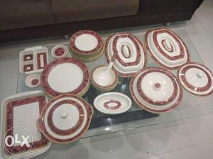 Dinner Set 8 Big plates 8 medium plates 8 small