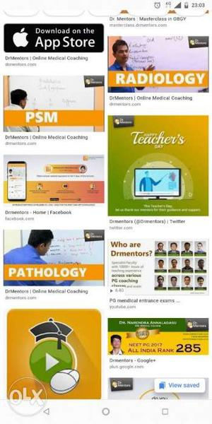 Dr mentors online videos for neet exams all