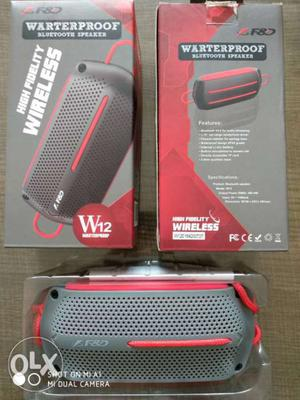 F&D w12 Bluetooth speaker, 8w, calling function,
