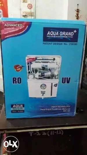 New 13 ltr Aqua Grand Water Purifier Box