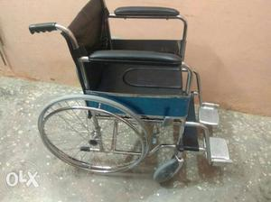 New brand wheel chair with toilet pot attached