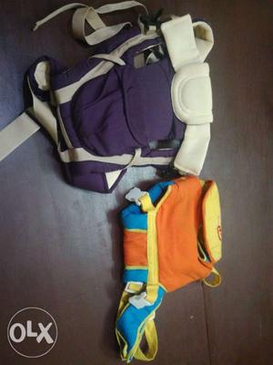 Two baby carrier want to be sell at very low