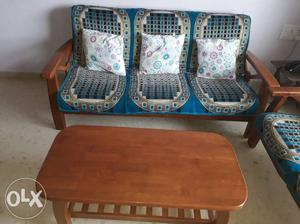 Sofa Set for Rs.  Tea Table for Rs.