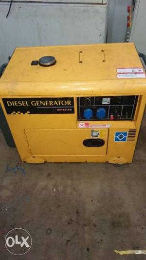 Yellow And Black Champion Generator