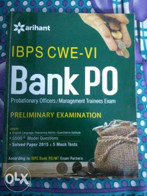 Banking PO and clerk practice book with mock test