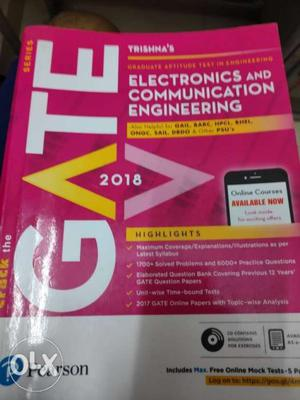 GATE  Electronic And Communication Engineering Book