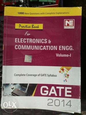 Gate practice work Book for EC Engg, made easy, price