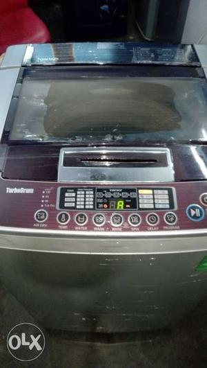 LG top load fully automatic washing machine with