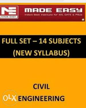 Made easy Civil engg complete set