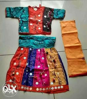 Chaniya choli for 3 to 5 years old girl