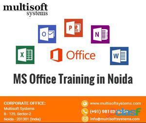 MS Office Training in Noida