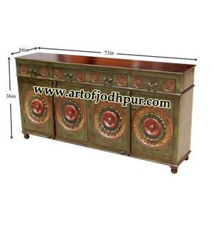 Buy online painted wooden sideboards