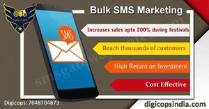 Top Bulk SMS Marketing Service Provider in India