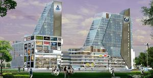 Top Galaxy blue Sapphire office space noida