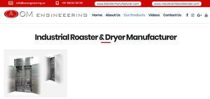industrial dryer machine manufacturer